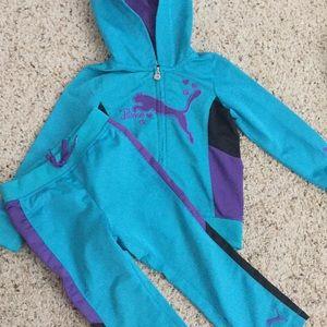 Puma track suit size 3t